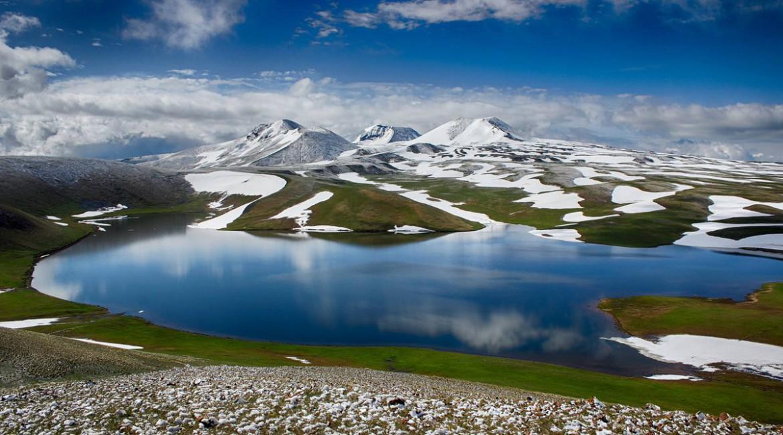 Поход по Гегамскому нагорью и восхождение на Арагац (4090м) в Армении