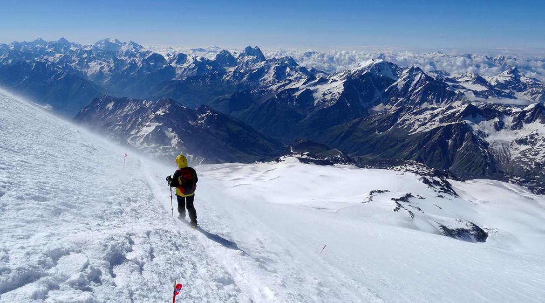 Восхождение на Эльбрус с юга — отчет