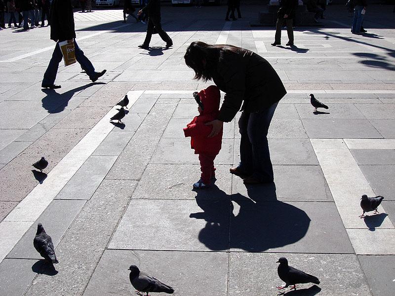 На главной площади Милана