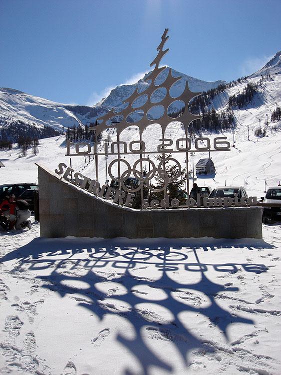 Эмблема олимпиады в Сестриере