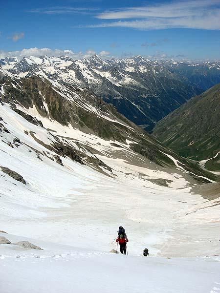 Вид с перевала Хотю-тау