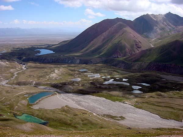 Памиро-алай, долина под Пиком Ленина
