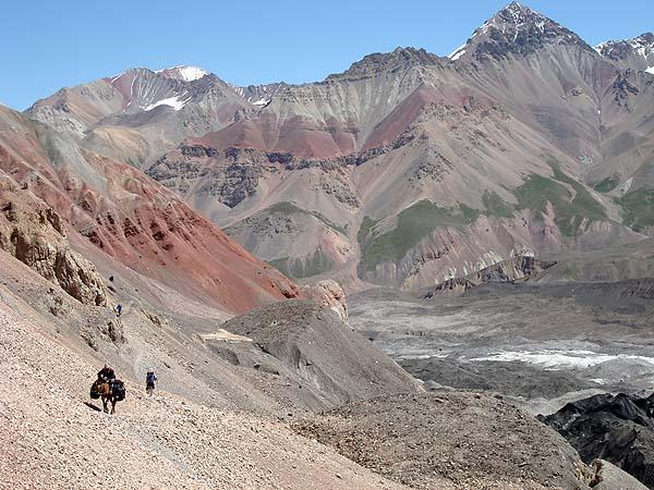 Краски памирских гор