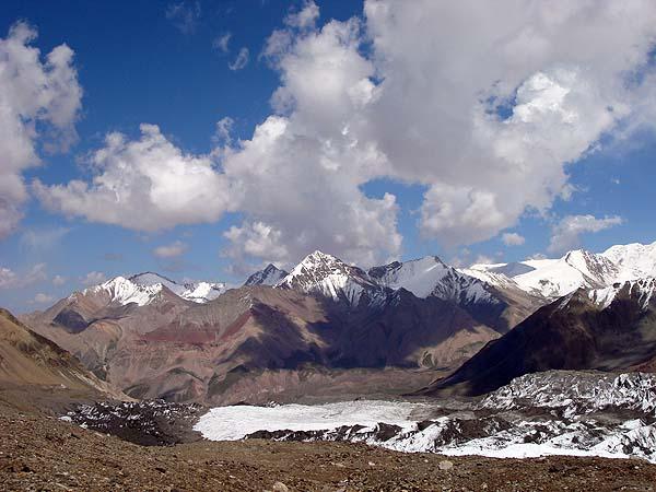 Горы Памира в Киргизии