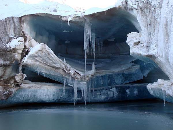 Структура ледника