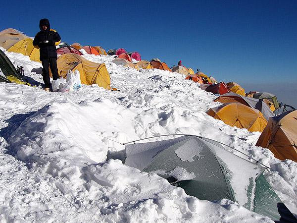 Третий лагерь, высота 6100 метров