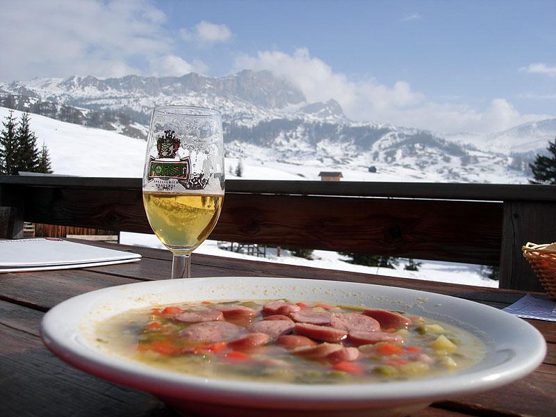 Минестроне - еда горнолыжника и фрирайдера