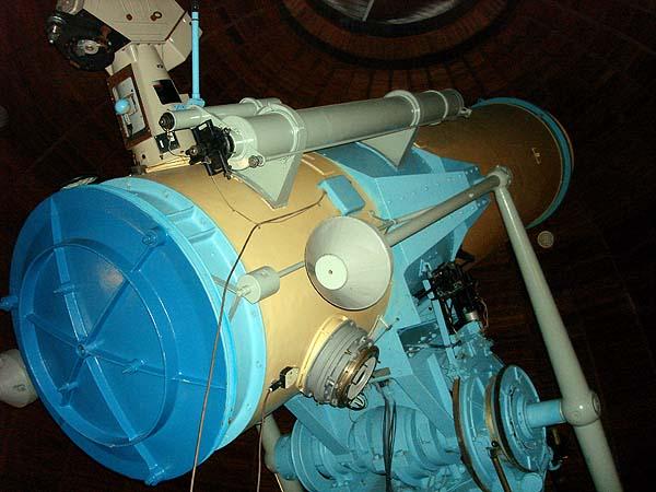 Телескоп Крымской обсерватории в поселке Научный