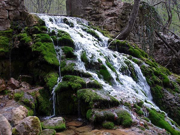 Водопад в Большом Каньоне
