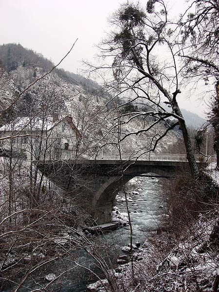 Альпийская деревушка Брид ле Бэн
