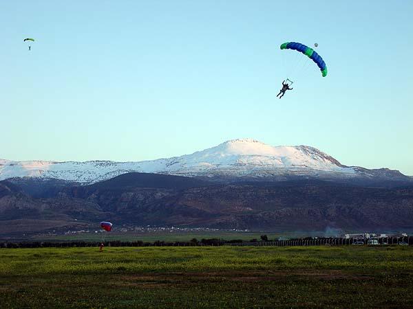 Прыжки с парашютом в Марокко