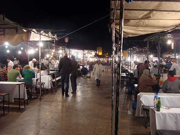 Джема аль-Фна - главная площадь Марракеша