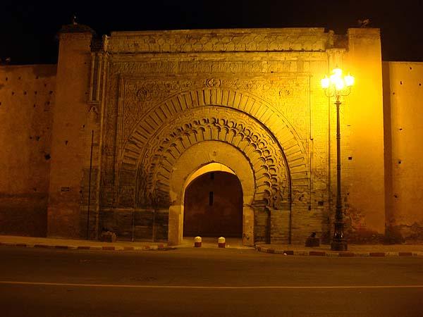 Марракеш, ворота старого города (Медины)