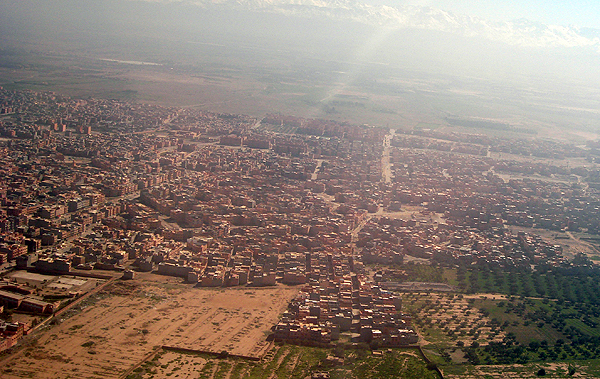Марракеш - красный город