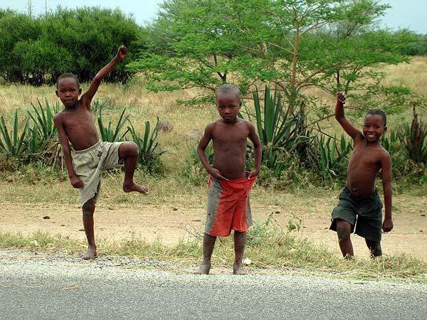 Африканская детвора