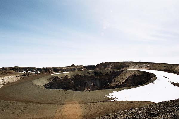 Воронка кратера Килиманджаро