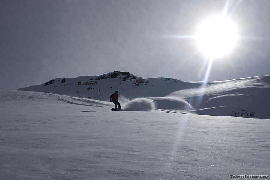 фото большие лыжи