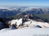 Вид с вершины Казбека